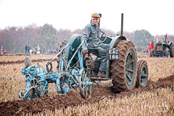 Fordson at Sherwood Ploughing Match, Budby, Nottinghamshire, November 2018. Photo: Neil Houltby