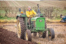 John Deere 1120 at Sherwood Ploughing Match, Budby, Nottinghamshire, November 2018. Photo: Neil Houltby