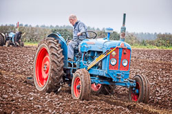 Fordson Super Major at Sherwood Ploughing Match, Budby, Nottinghamshire, November 2018. Photo: Neil Houltby