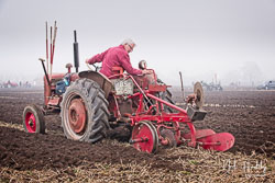 McCormick International at Collingham Ploughing Match, South Scarle, Lincolnshire, February 2019. Photo: Neil Houltby