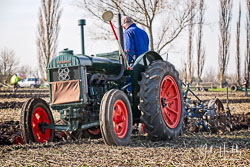 Fordson at Newborough Plouging Match, Newborough, Cambridgeshire, February 2019. Photo: Neil Houltby