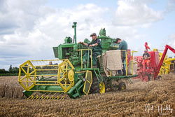 Lanz Combine at Gathering the Harvest, East Bridgeford, Nottinghamshire, August 2019. Photo: Neil Houltby