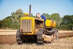 Caterpillar D2 Crawler at Collingham Show, Collingham, Nottinghamshire, September 2019. Photo: Neil Houltby
