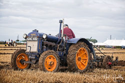 Fordson at Flintham and District Ploughing Match, Scarrington, Nottinghamshire, September 2019. Photo: Neil Houltby