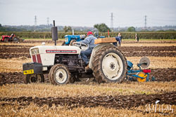 David Brown 880 at Flintham and District Ploughing Match, Scarrington, Nottinghamshire, September 2019. Photo: Neil Houltby