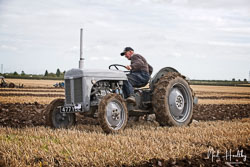 Ferguson TE-20 at Flintham and District Ploughing Match, Scarrington, Nottinghamshire, September 2019. Photo: Neil Houltby