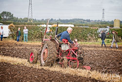 McCormick International B-250 at Flintham and District Ploughing Match, Scarrington, Nottinghamshire, September 2019. Photo: Neil Houltby