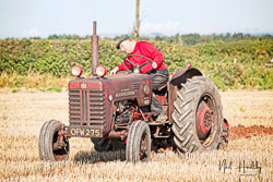 McCormick International B250 at North Notts Ploughing Match, Blyth, Nottinghamshire, September 2019. Photo: Neil Houltby