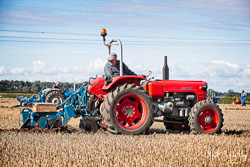 Zetor 3045 at North Notts Ploughing Match, Blyth, Nottinghamshire, September 2019. Photo: Neil Houltby