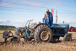 Ford 3000 at North Notts Ploughing Match, Blyth, Nottinghamshire, September 2019. Photo: Neil Houltby