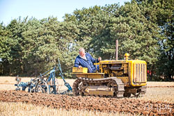 Caterpillar D2 Crawler at North Notts Ploughing Match, Blyth, Nottinghamshire, September 2019. Photo: Neil Houltby