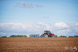 Massey Ferguson MF7718S at North Notts Ploughing Match, Blyth, Nottinghamshire, September 2019. Photo: Neil Houltby