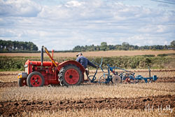 Fordson at North Notts Ploughing Match, Blyth, Nottinghamshire, September 2019. Photo: Neil Houltby