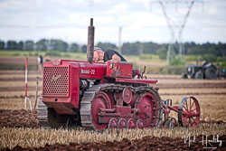 Bristol 22 Crawler at North Notts Ploughing Match, Blyth, Nottinghamshire, September 2019. Photo: Neil Houltby
