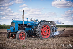 Fordson Power Major at North Notts Ploughing Match, Blyth, Nottinghamshire, September 2019. Photo: Neil Houltby
