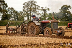 Fordson N at British National Ploughing Championship, Nocton, Lincolnshire, October 2019. Photo: Neil Houltby