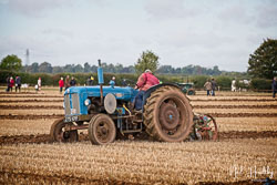 Fordson Power Major at British National Ploughing Championship, Nocton, Lincolnshire, October 2019. Photo: Neil Houltby