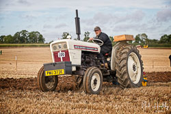 David Brown 880 at British National Ploughing Championship, Nocton, Lincolnshire, October 2019. Photo: Neil Houltby