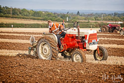 Allis Chalmers ED40 at British National Ploughing Championship, Nocton, Lincolnshire, October 2019. Photo: Neil Houltby