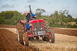 International 434 at British National Ploughing Championship, Nocton, Lincolnshire, October 2019. Photo: Neil Houltby