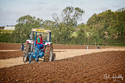 Ford 4600 at British National Ploughing Championship, Nocton, Lincolnshire, October 2019. Photo: Neil Houltby