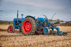 Fordson at British National Ploughing Championship, Nocton, Lincolnshire, October 2019. Photo: Neil Houltby