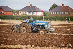 Ford 3000 at British National Ploughing Championship, Nocton, Lincolnshire, October 2019. Photo: Neil Houltby