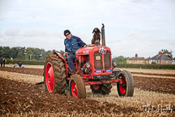 Nuffield 10/42 at British National Ploughing Championship, Nocton, Lincolnshire, October 2019. Photo: Neil Houltby