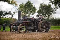 John Fowlers & Co Steam Plough at British National Ploughing Championship, Nocton, Lincolnshire, October 2019. Photo: Neil Houltby