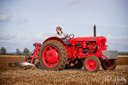 Nuffield at British National Ploughing Championship, Nocton, Lincolnshire, October 2019. Photo: Neil Houltby