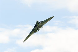 Avro Vulcan at RAF Waddington