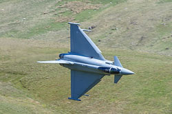 RAF Eurofighter Typhoon, Lowfly, Wales
