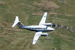 RAF King Air, Lowfly, Wales