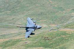 RAF Tornado GR4, Lowfly, Wales