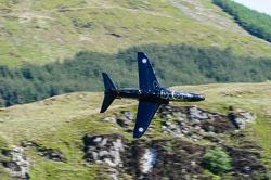 RAF BAe Hawk T1, Lowfly, Wales
