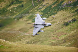 41 Squadron RAF Tornado GR4, Lowfly, Wales