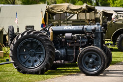 Fordson at Lanc and Tank, Lincolnshire Aviation Heritage Centre, East Kirkby, Lincolnshire, May 2018. Photo: Neil Houltby
