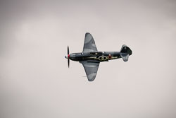 Yakovlev Yak-3 at East Kirkby Airshow, Lincolnshire Aviation Heritage Centre, East Kirkby, Lincolnshire, August 2018. Photo: Neil Houltby