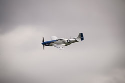 P-51 Mustang 'Miss Helen' at East Kirkby Airshow, Lincolnshire Aviation Heritage Centre, East Kirkby, Lincolnshire, August 2018. Photo: Neil Houltby