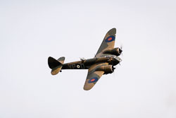 Bristol Blenheim  at East Kirkby Airshow, Lincolnshire Aviation Heritage Centre, East Kirkby, Lincolnshire, August 2018. Photo: Neil Houltby