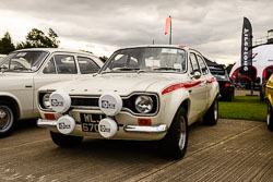 Ford Escort at Props and Pistons, Lincolnshire Aviation Heritage Centre, East Kirkby, Lincolnshire, August 2018. Photo: Neil Houltby