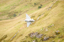 RAF Eurofighter Typhoon at Wales, Lowfly, Cad East, Gwynedd, September 2018. Photo: Neil Houltby