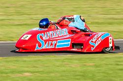 Barry James & Jamie Winn, MRO, Cadwell Park, 2011