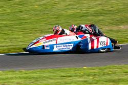 Gary Horspole & Rob Briggs, Sidecar, NG, Cadwell Park, 2011