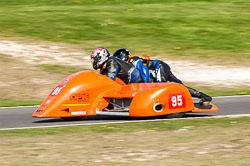 Ralph Remmant & Ashley Moore, Sidecar, NG, Cadwell Park, 2011