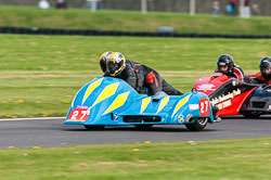 Hortz Walczak & Andrew Miller, Sidecar, NG, Cadwell Park, 2011