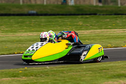 Tim Reeves & Gregory Cluze, Sidecar, NG, Cadwell Park, 2011
