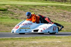 Shane Maddison & Jon-Paul Jones, Open Sidecar, Derby Phoenix, Cadwell Park, 2011