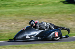 Chris Taylor & Martin Davies, F2 Didecars, Derby Phoenix, Cadwell Park, September 2011