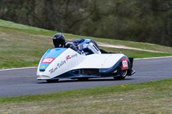 Tom Quaye & Thomas Quaye, Sidecar, NG, Cadwell Park, 2013